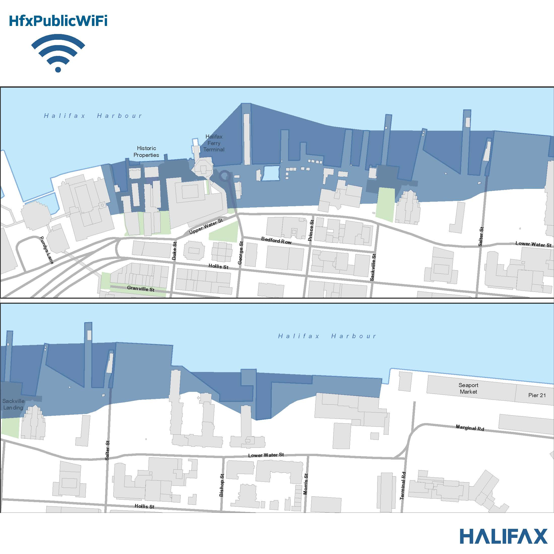 Halifax Waterfront Coverage
