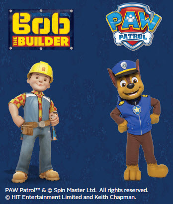 Bob the Builder and PAW Patrol Chase