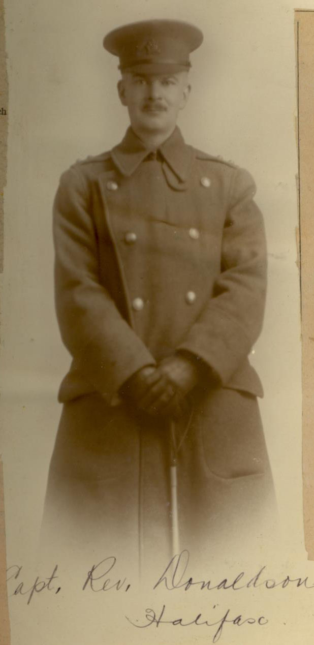 Sepia photo of soldier