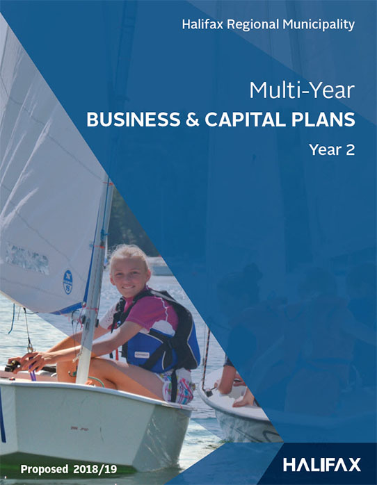 Business and Capital Plans Year 2 Cover page