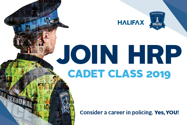 Promotion photo for 2019 cadet recruitment campaign