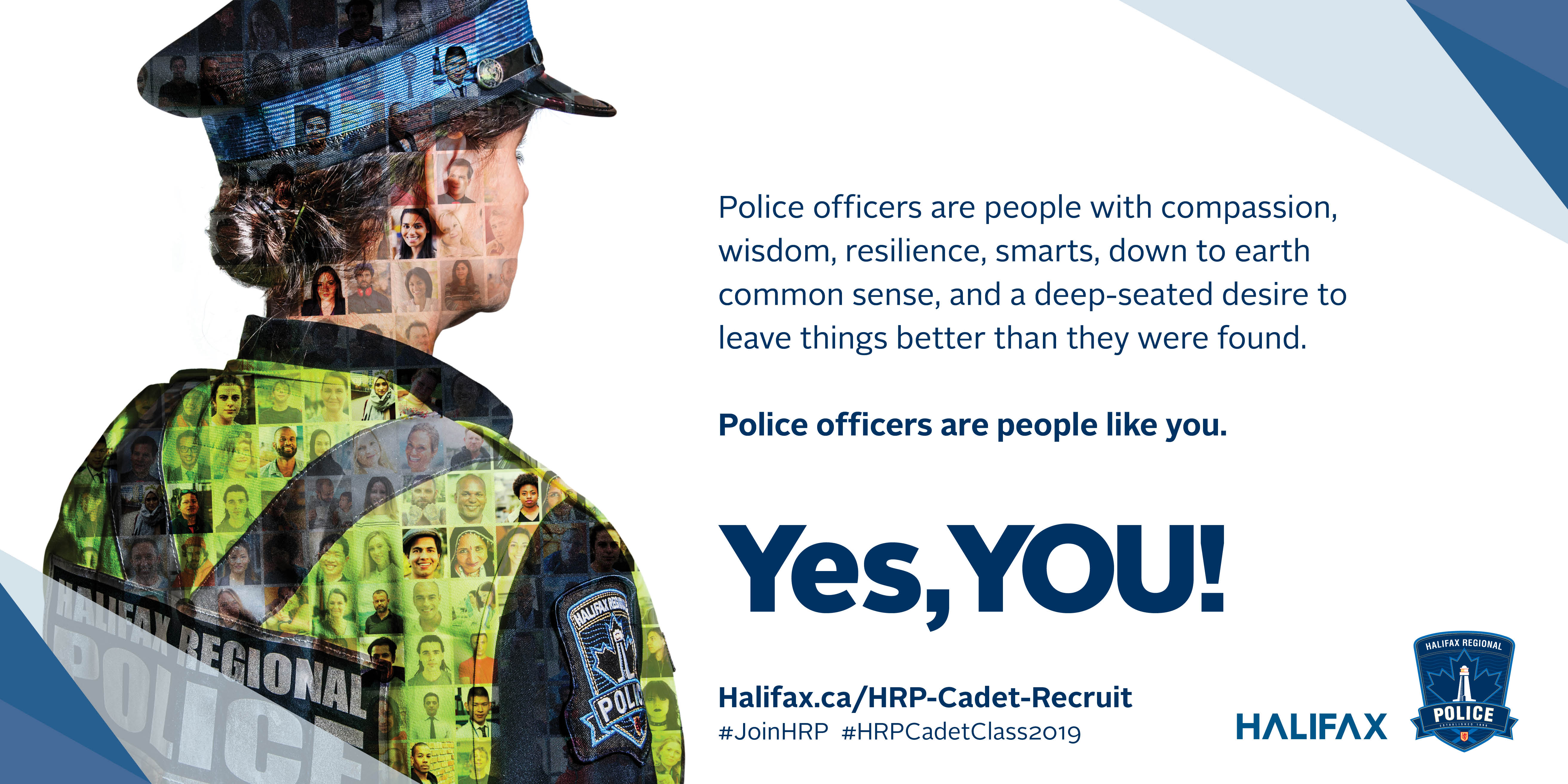 HRP Yes, YOU! Recruitment Campaign