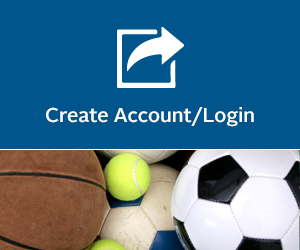 Create Account/Login Button