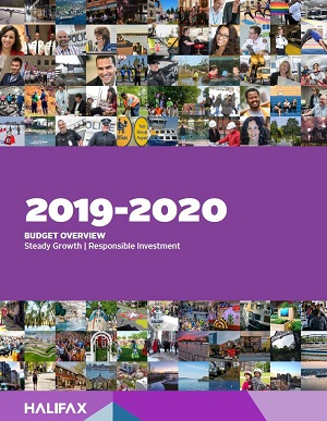 The cover of the 2019-20 Budget Summary document