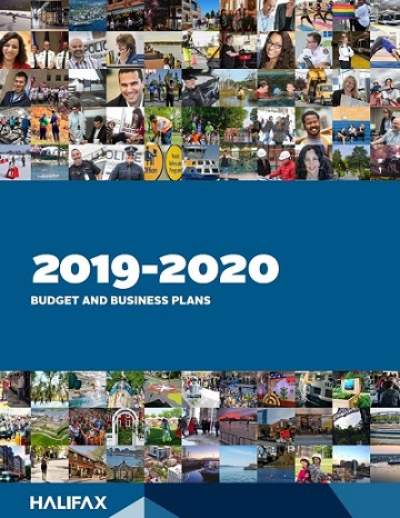 The cover of the 2019-20 Budget and Business Plans