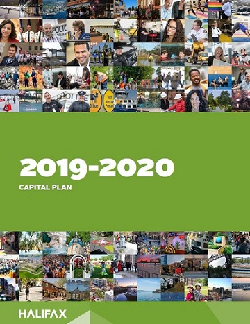 The cover of the 2019-20 Capital Plan budget book