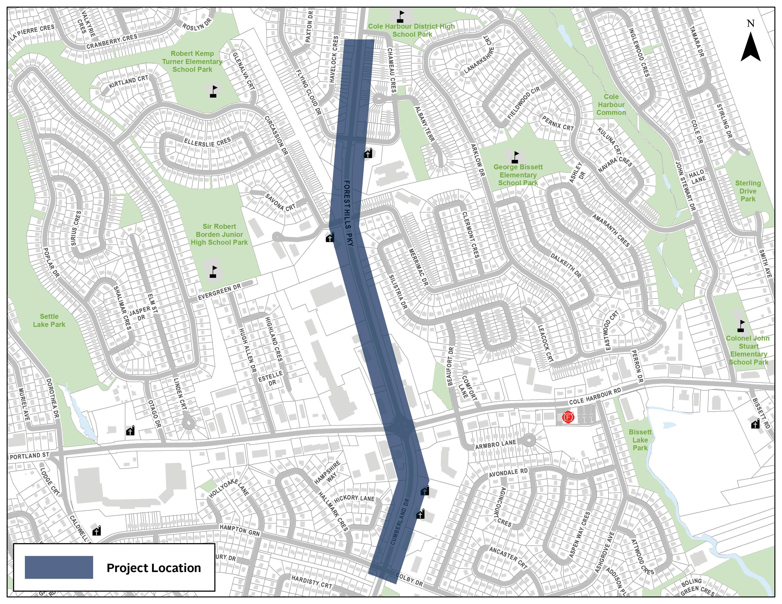 Forest Hills Parkway Active Transportation & Street Improvements Project