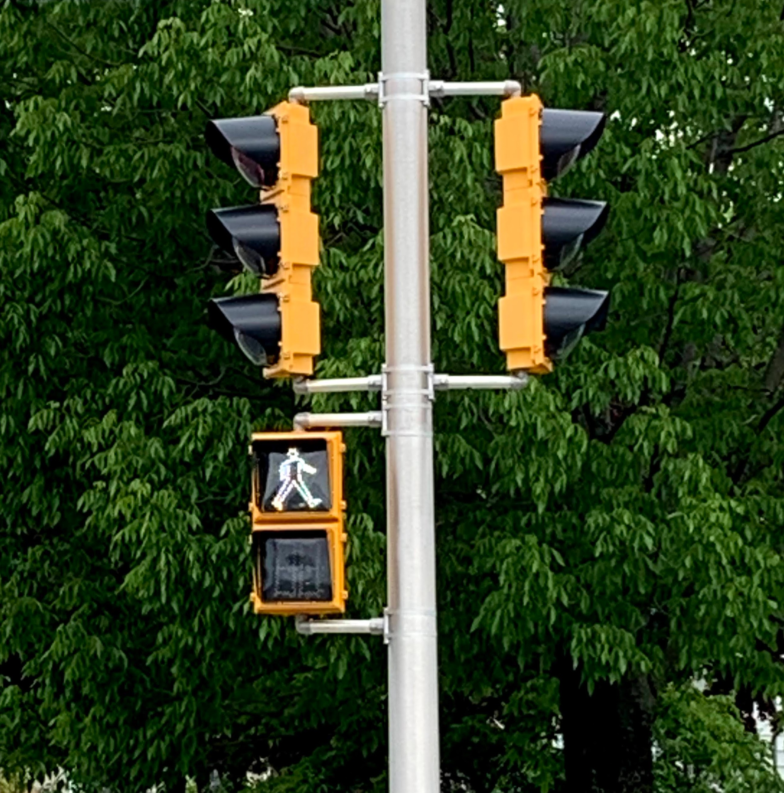 Photograph of Signalized Traffic Control
