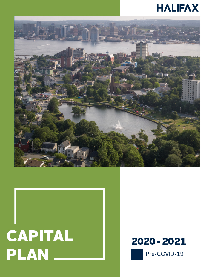 2020-21 Pre-COVID-19 Capital Plan budget book