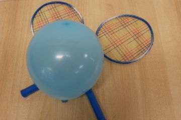 Get Active | Balloon Tennis