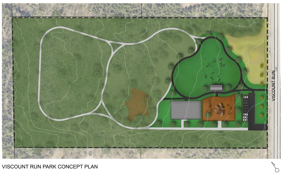 Viscount Run Park Concept Plan