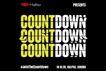 TEDxHalifax Countdown, October 10, 2020 at 7 p.m.