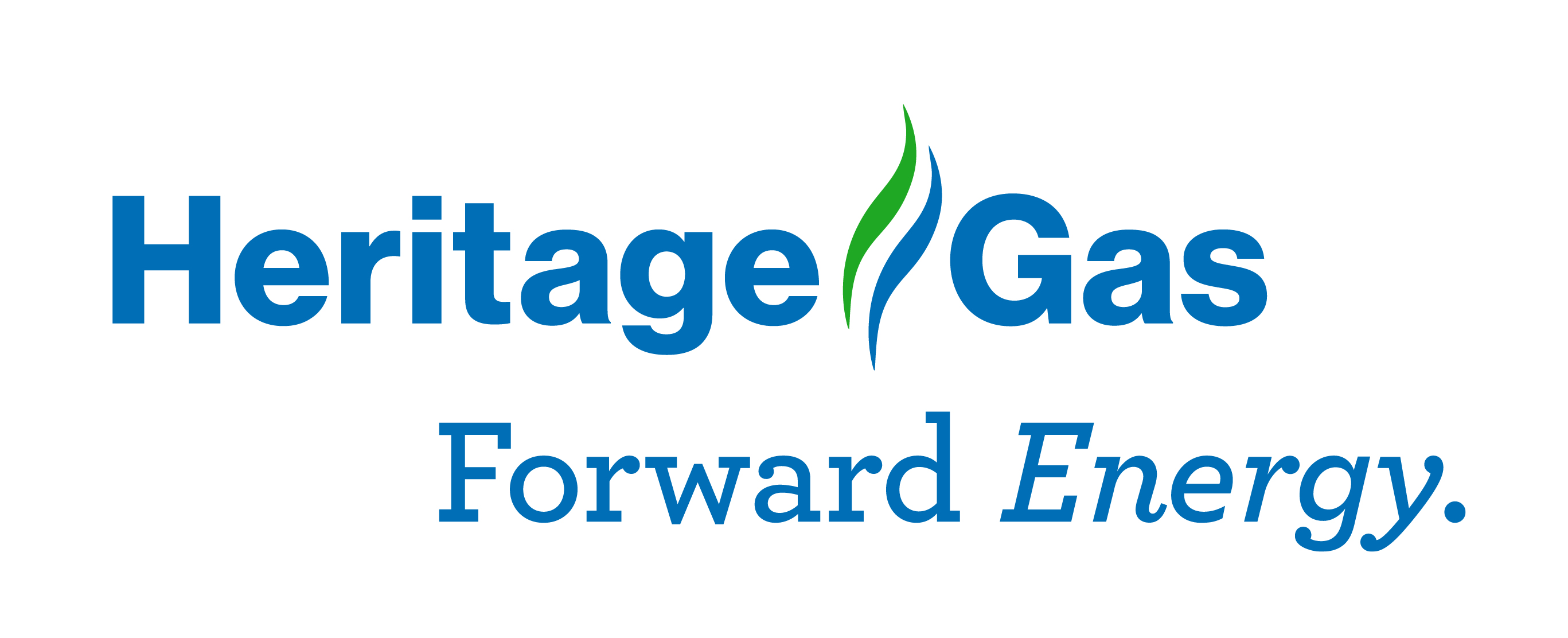 A logo image of Heritage Gas