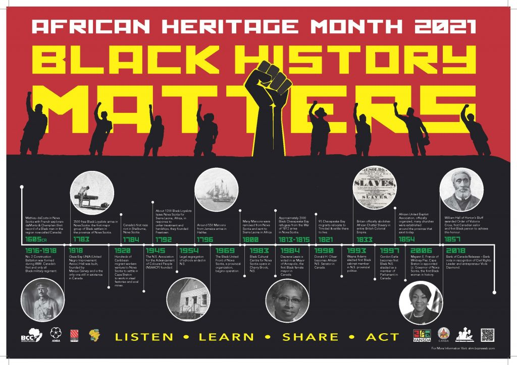 African Heritage Month 2021   Halifax