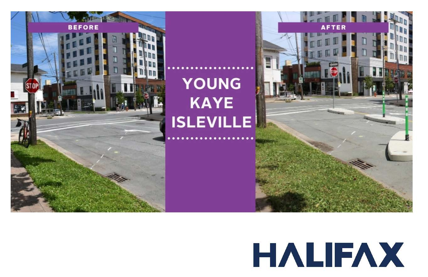 Tactical Urbanism at Young Kaye and Isleville
