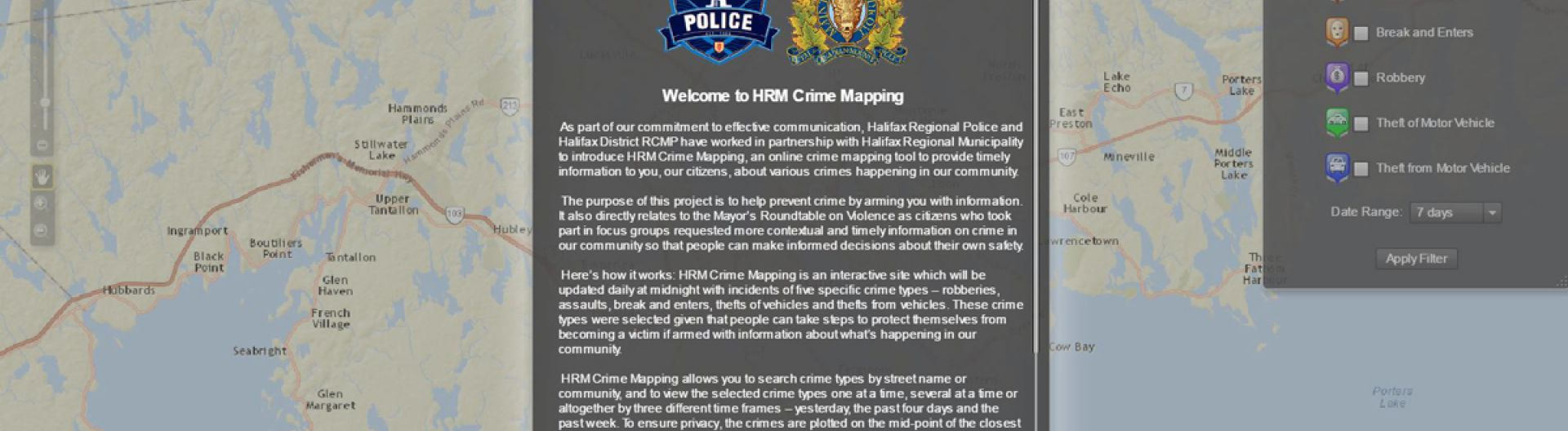 Crime Mapping | Halifax
