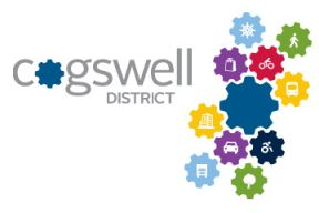 The Cogswell District logo