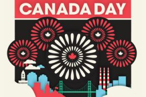 Canada Day graphic