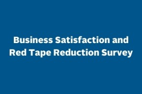 Business satisfaction and red tape reduction survey