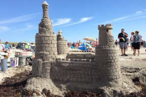Picture of a Sandcastle