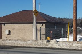 Bulk water filling station located in Beaverbank