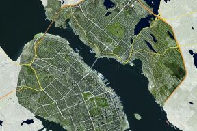 Map of downtown Halifax and Dartmouth - Centre Plan area
