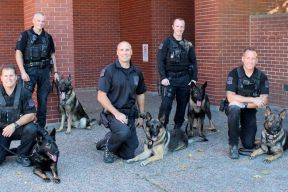 Halifax Regional Police K9 Unit dogs and handlers