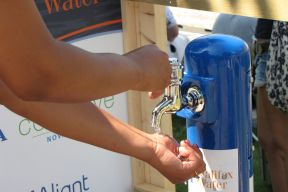 Halifax Water portable water station tap