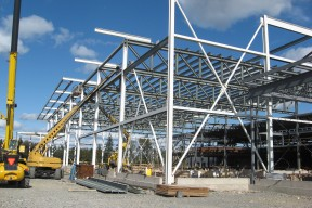 Example of large scale commercial construction