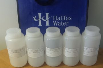 Halifax Water Sample Bottles for lead testing