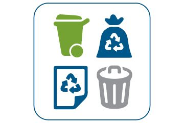 Download the Halifax Recycles app to search What Goes Where and to set up custom notifications