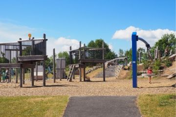 photo of a playground